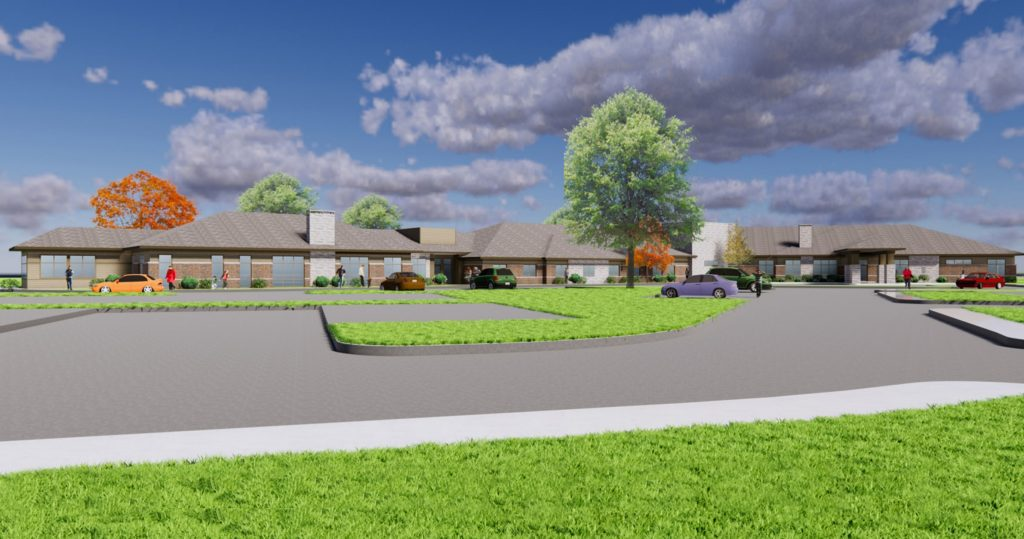 A new senior living community in DeWitt, Michigan